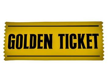 Golden Ticket': A Word of Pure Imagination | Merriam-Webster