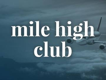 Definition Of Mile High Club