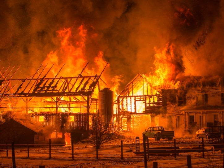 Barn burning explanation