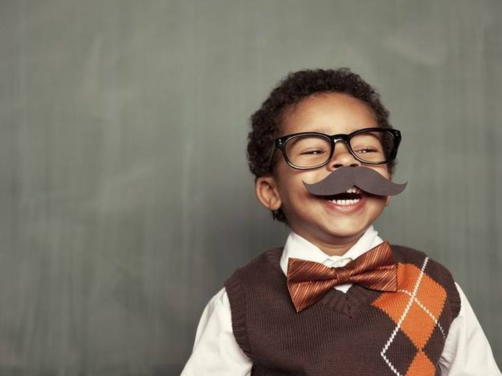 How English Grew Its 'Mustache'