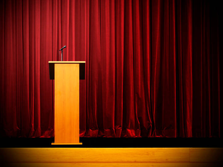 Its true podium can be used to mean lectern merriam webster