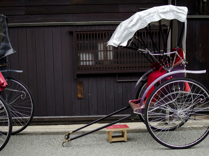 17 English Words that Come From Japanese : Rickshaw