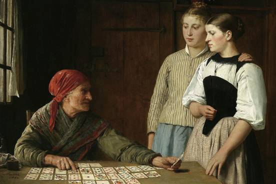 Definition : Fortune Telling By Means Of Playing Cards