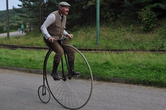 Penny-farthing, Velocipede, Derailleur, and More Words From