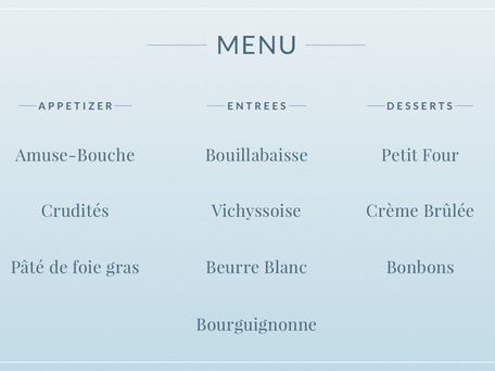 How To Read A French Menu Video  MerriamWebster