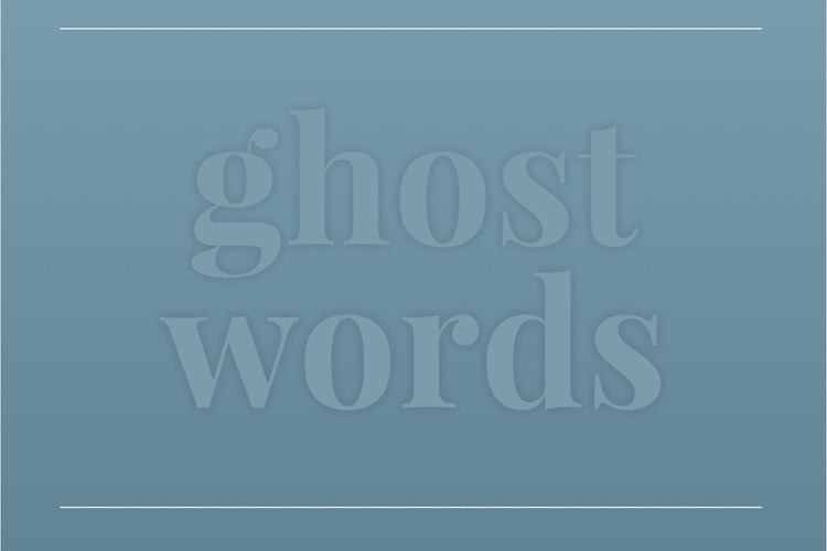 video-ghost-words
