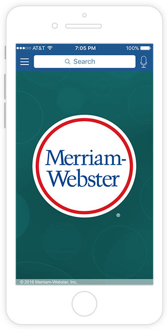 merriam-webster's learner's dictionary app screenshot