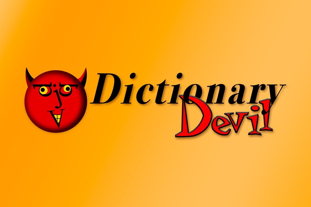 dictionary devil merriamwebster