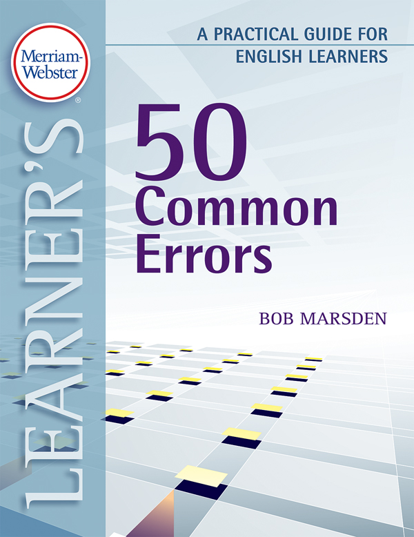 50 common errors: a practical guide for english learners book cover