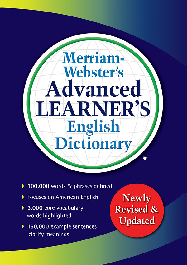 merriam-webster's advanced learner's english dictionary book cover