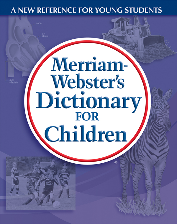 merriam-webster's dictionary for children book cover