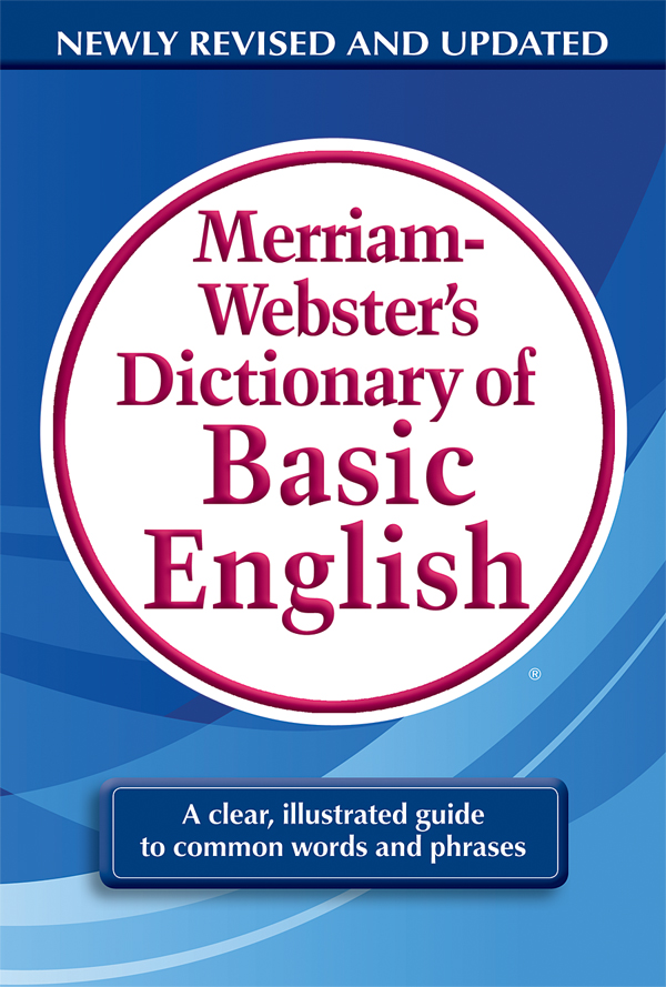 Buy Merriam Websters Dictionary Of Basic English