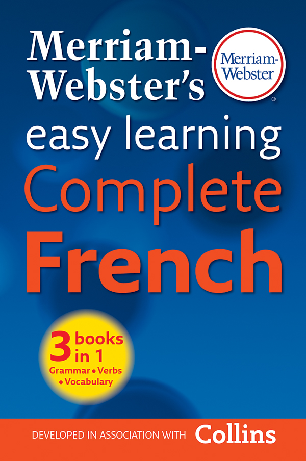 merriam-webster's easy learning complete french book cover