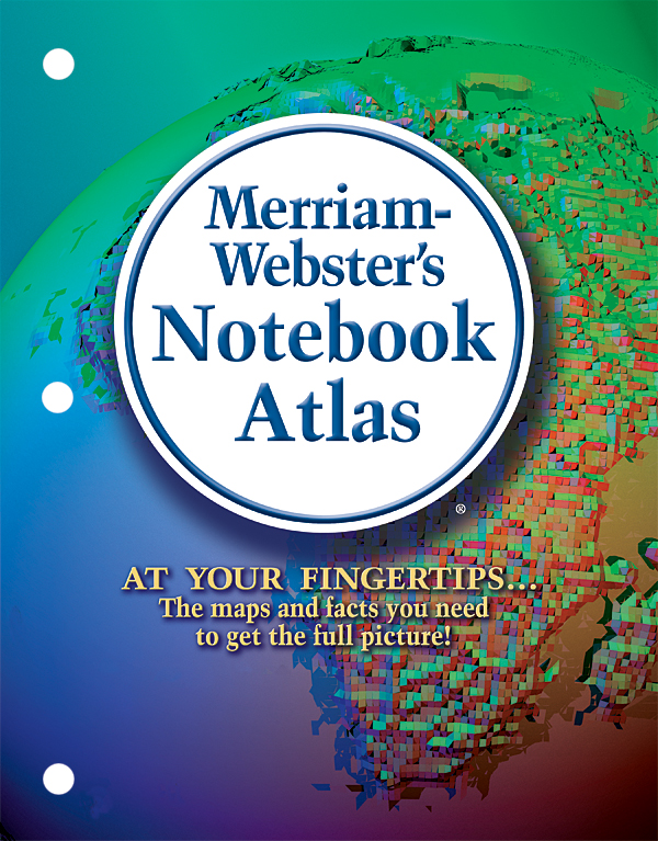 merriam-webster's notebook atlas book cover