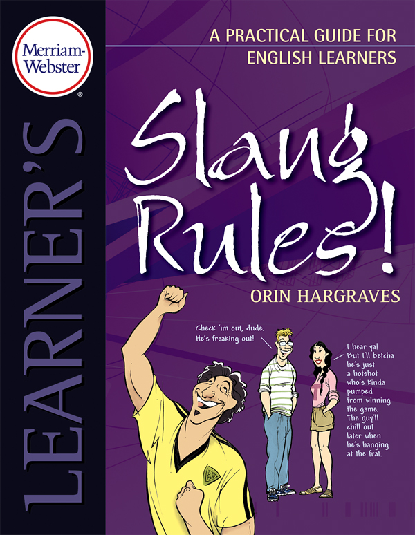 slang rules! a practical guide for english learners book cover