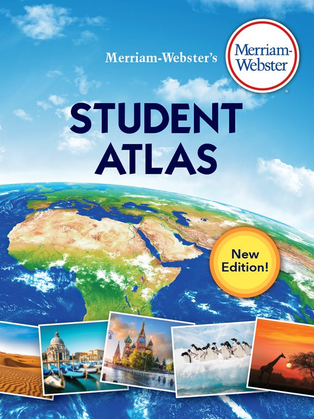 Buy merriam websters student atlas a paperback for grades 5 8 merriam websters student atlas book cover gumiabroncs Image collections