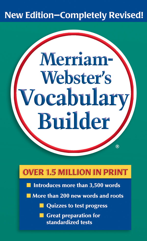 merriam-webster's vocabulary builder book cover